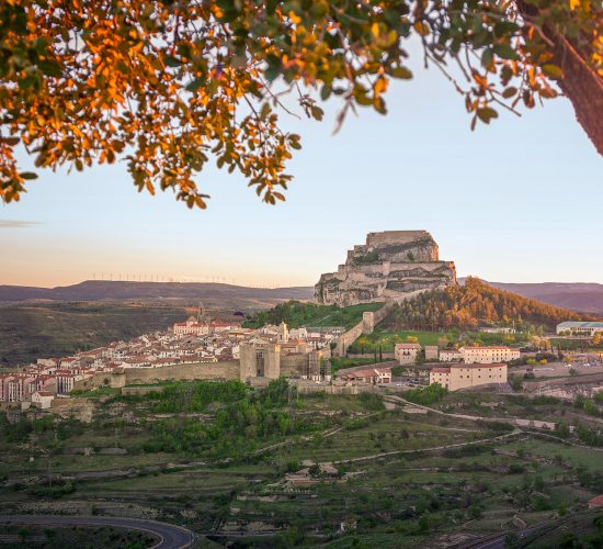 Vista panorámica de Morella // © Jordi Ferrer Ber